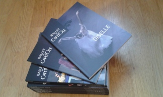 booklets sold at shows.