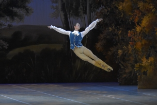 Prince Désiré in 'Sleeping Beauty' - copyright Yacobson Ballet