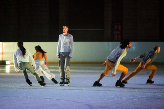 Le Patin Libre at Alexandra Palace, part of Dance Umbrella 2014.