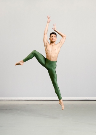 Ailey II's Adrien Picaut. Photo by Kyle Froman